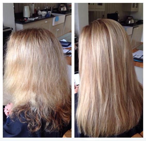 Olaplex Treatment - repairing damaged hair